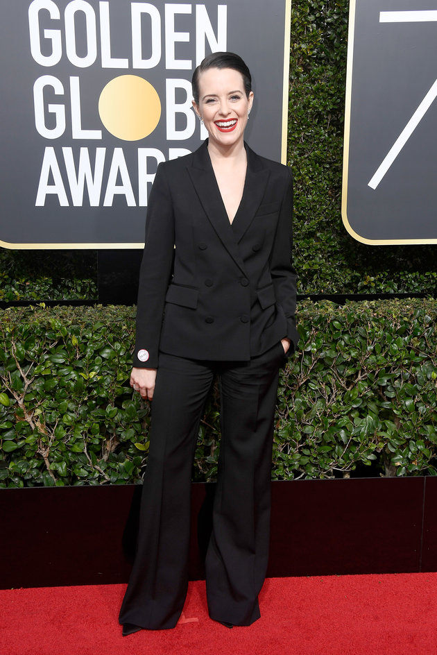 Claire Foy in Stella McCartney