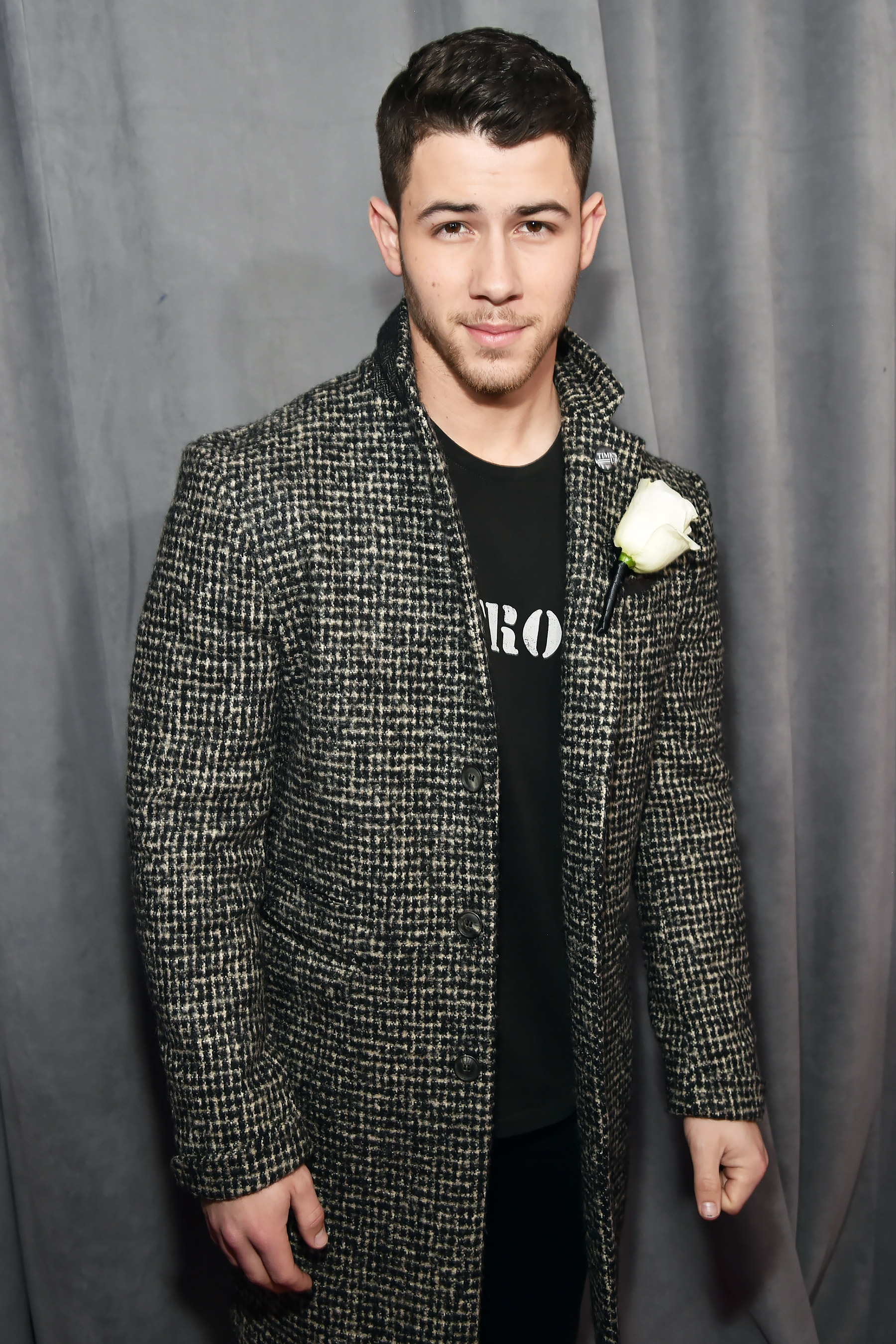 Nick Jonas in John Varvatos