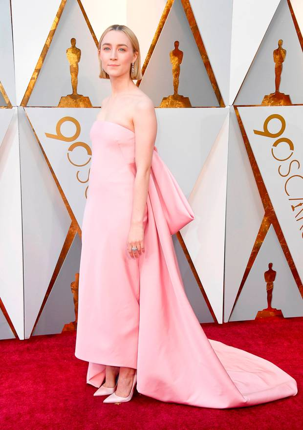 Saoirse Ronan in Calvin Klein by Appointment