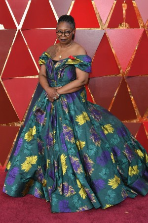 Whoopi Goldberg in Cristian Siriano