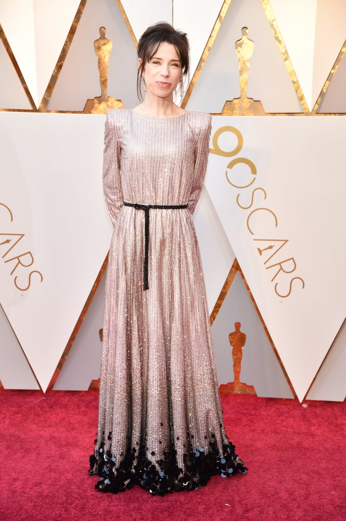 Sally Hawkins in Armani Privé