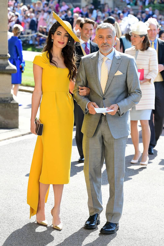 Amal Clooney in Stella McCartney
