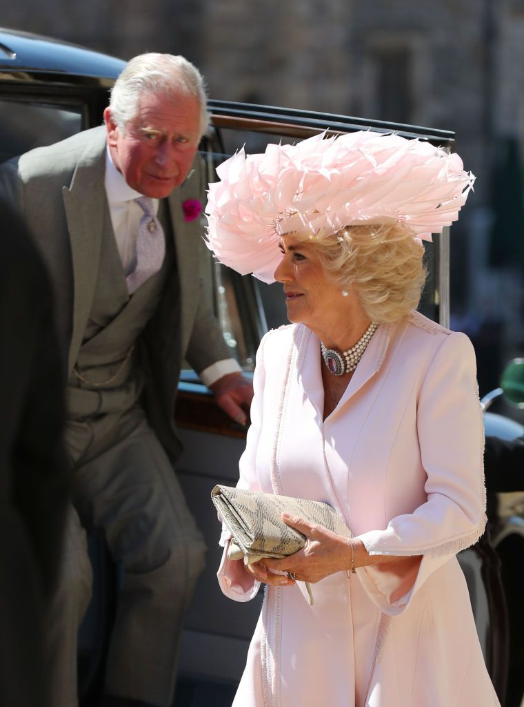 Camilla Parker Bowles in Anne Valentine