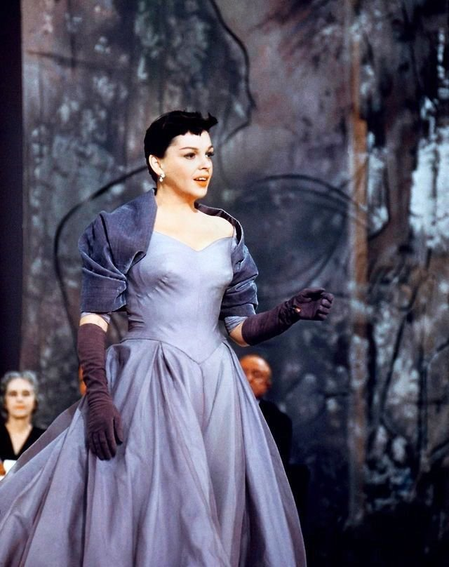 Judy Garland in A Star is Born from 1954