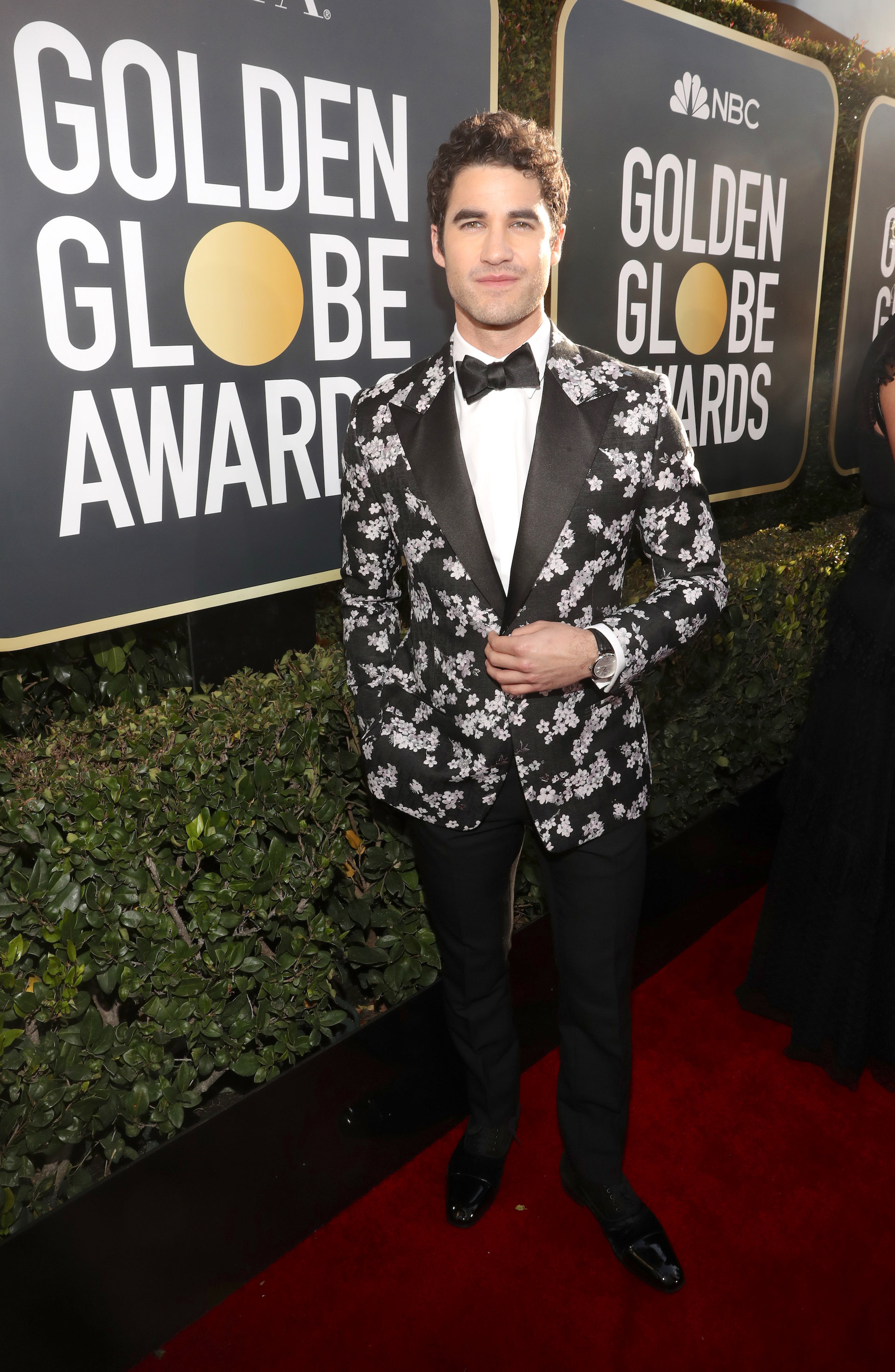 Darren Criss in Christian Dior