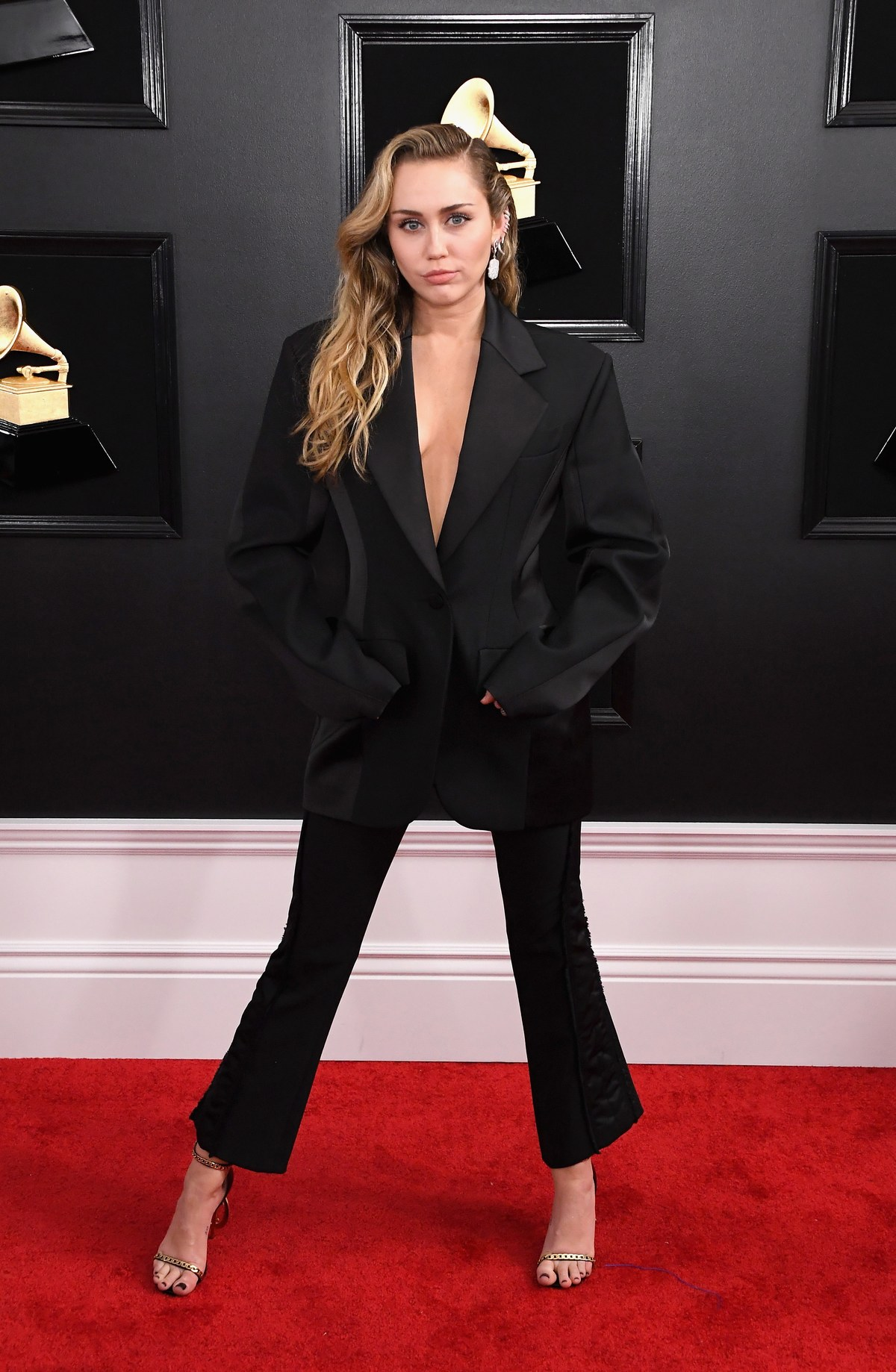 Miley Cyrus in Mugler