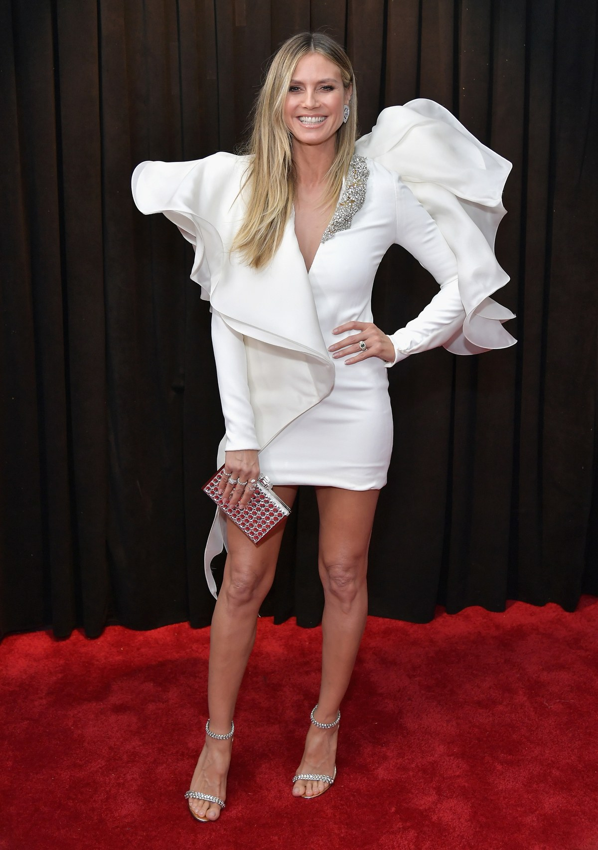 Heidi Klum in Stephane Rolland