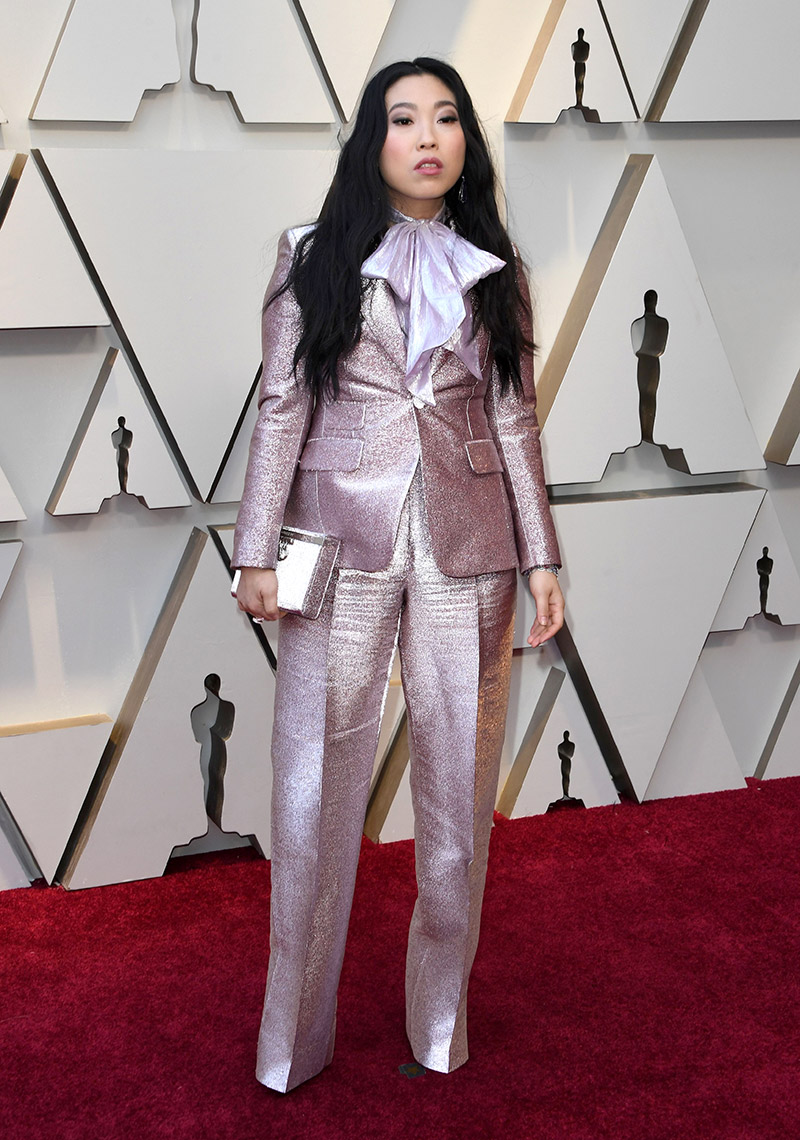 Awkwafina in DSquared2