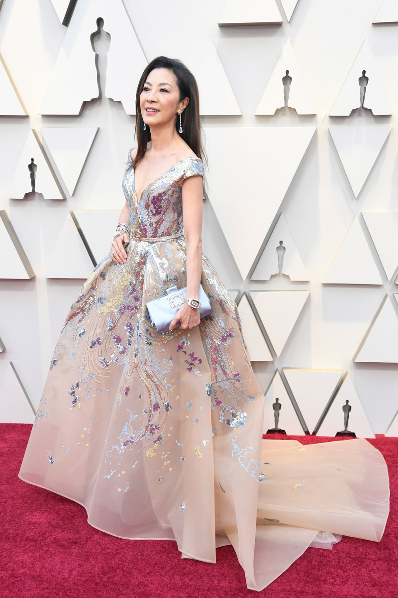 Michelle Yeoh in Elie Saab