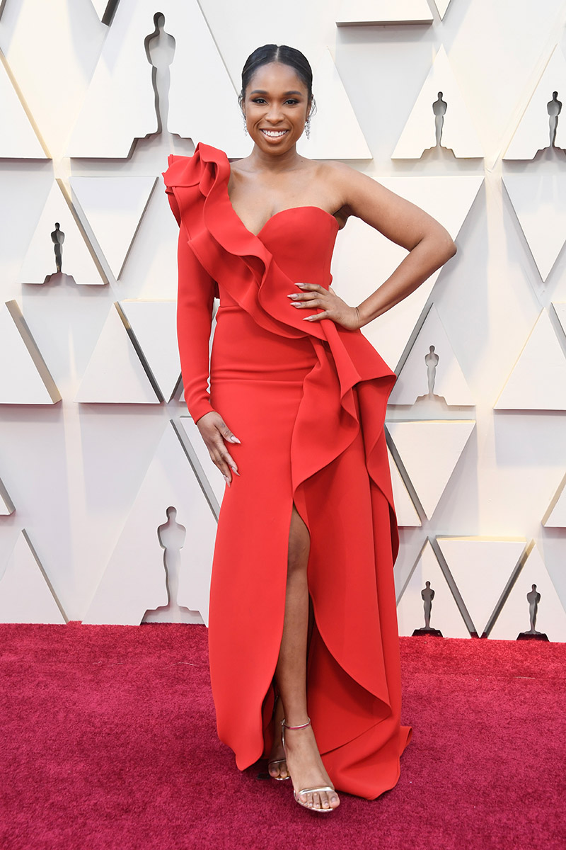Jennifer Hudson in Elie Saab