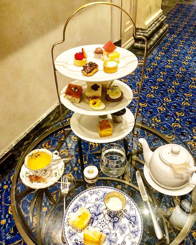 Afternoon tea @fairmontpalliser #spoiledsplendid #afternoontea #hightea #tea #hotel #yyc #calgary #food #foodporn #foodie #foodphotography