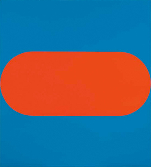Ellsworth Kelly  1965, Oil on canvas, 60 × 54 1/10 in 152.4 × 137.5 cm  Viewed by Appointment at  The  Tate