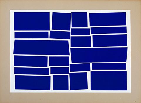 1958,Gouache on Cardboard, 550 x 639 mm