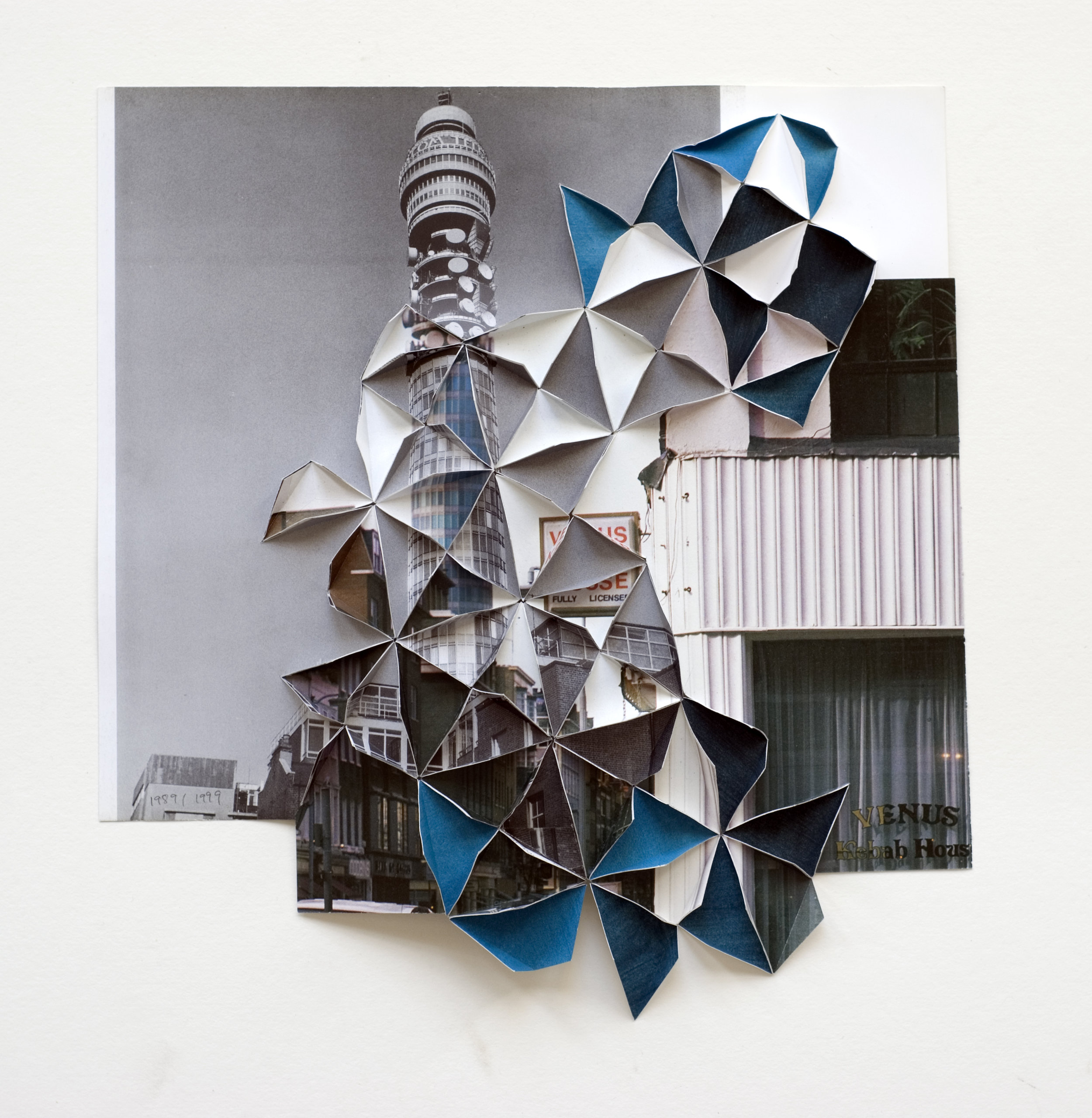 'Post Office Tower 1989|1999' 27 x 25 cm, 2009