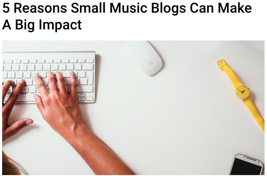 Article by Angela Mastrogiacomo on ReverbNation