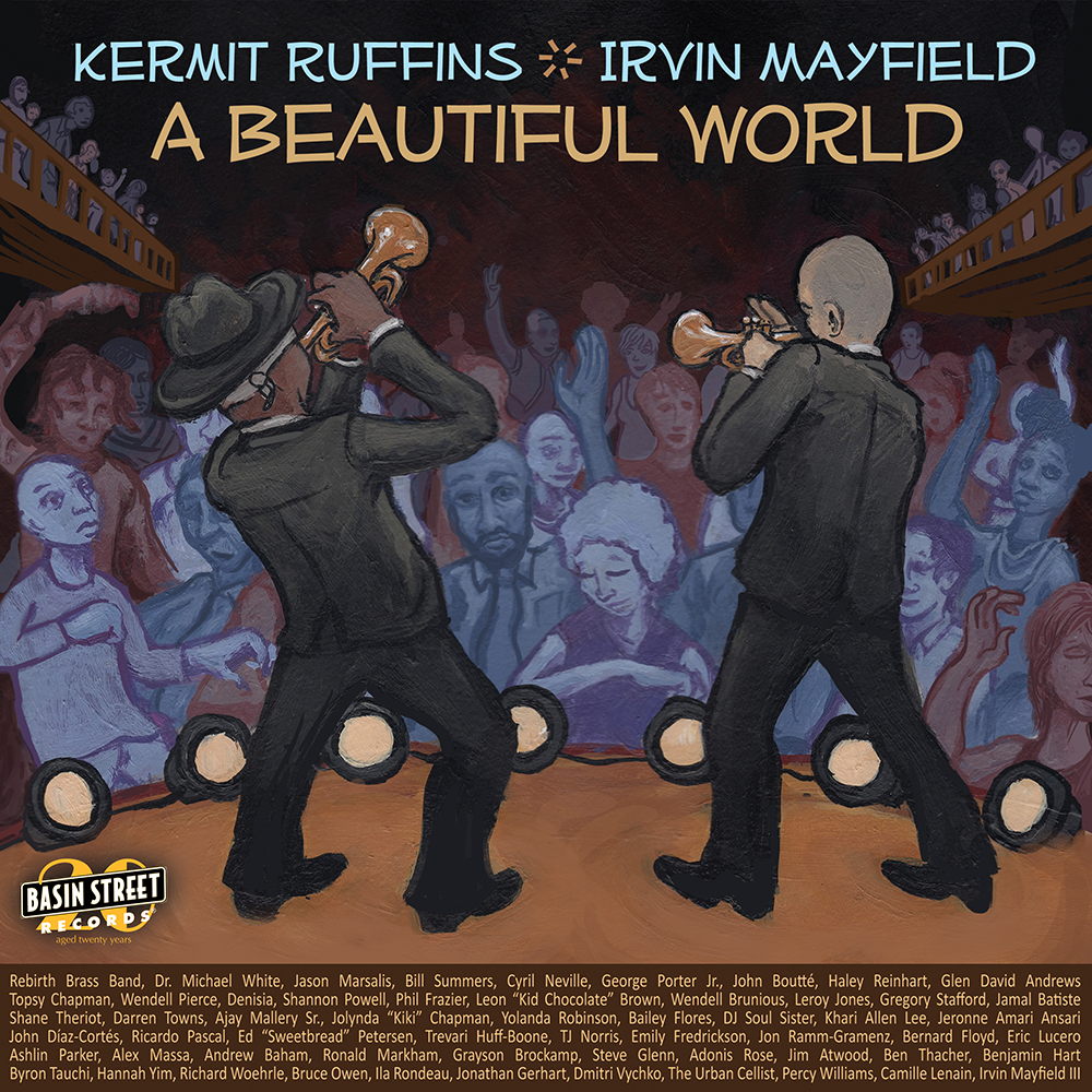 Get the 20 YEAR Anniversary Album featuring Kermit Ruffins & Irvin Mayfield.