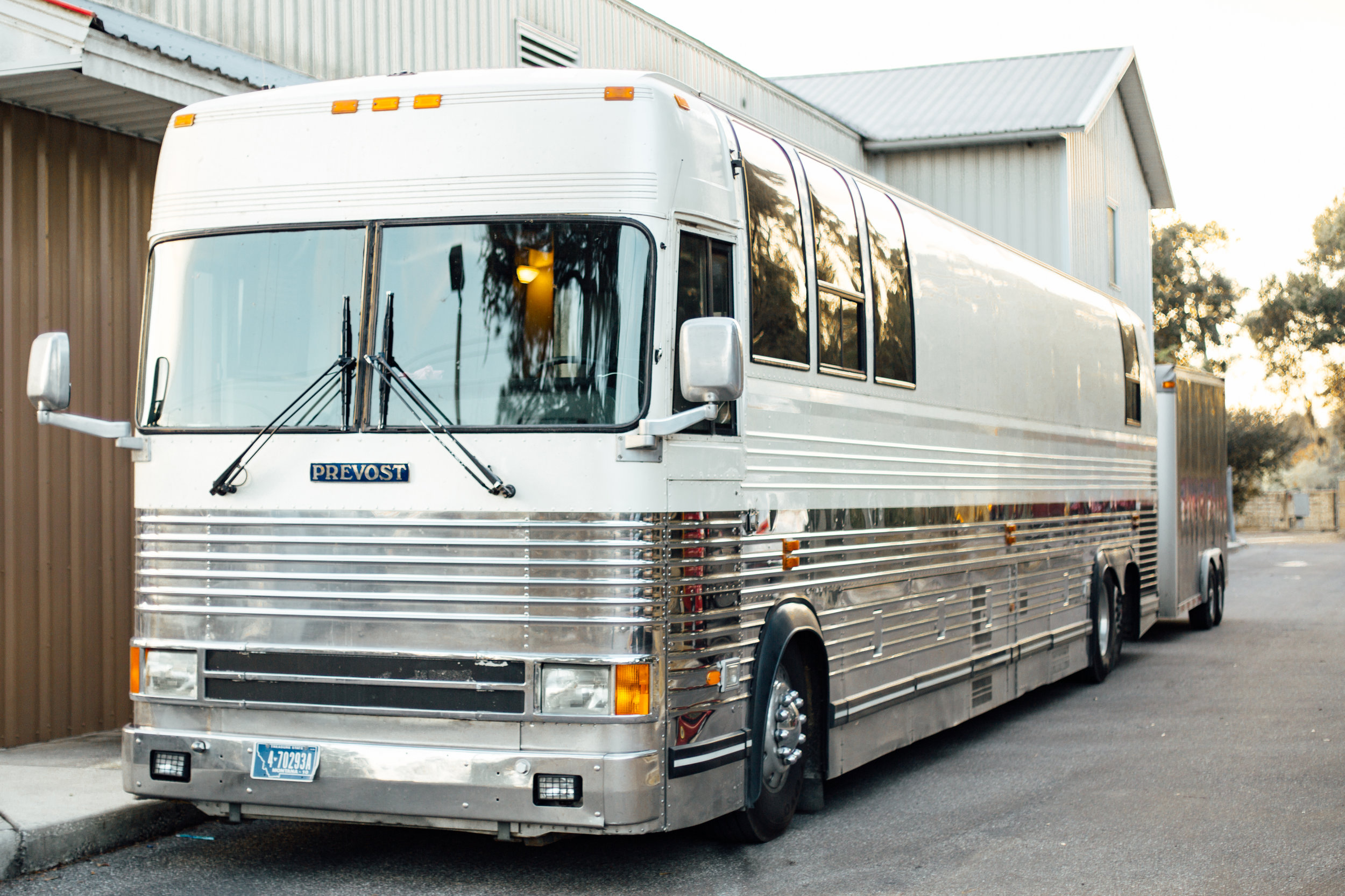 Music Tour Bus