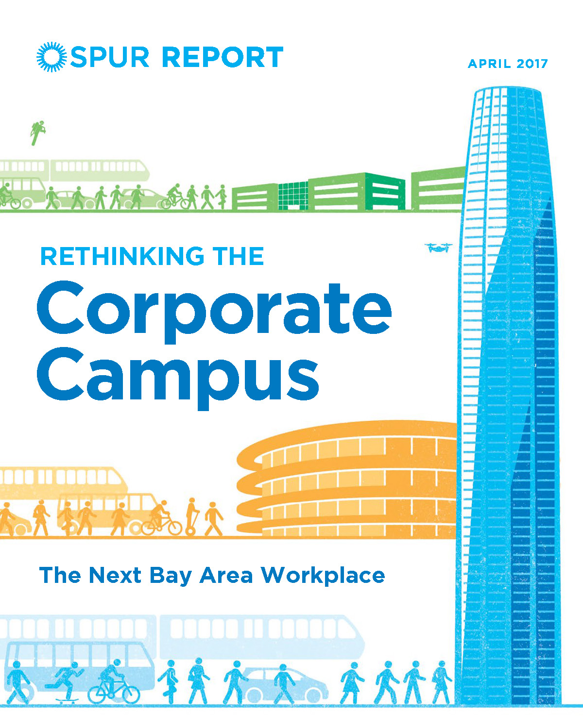 Laura Crescimano has been part of the task force behind the report, Rethinking the Corporate Campus - April 20, 2017