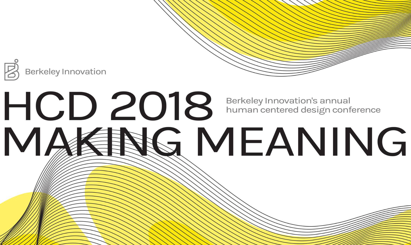Guneet Anand to speak at the HCD Conference 2018: Making Meaning - April 14 2018