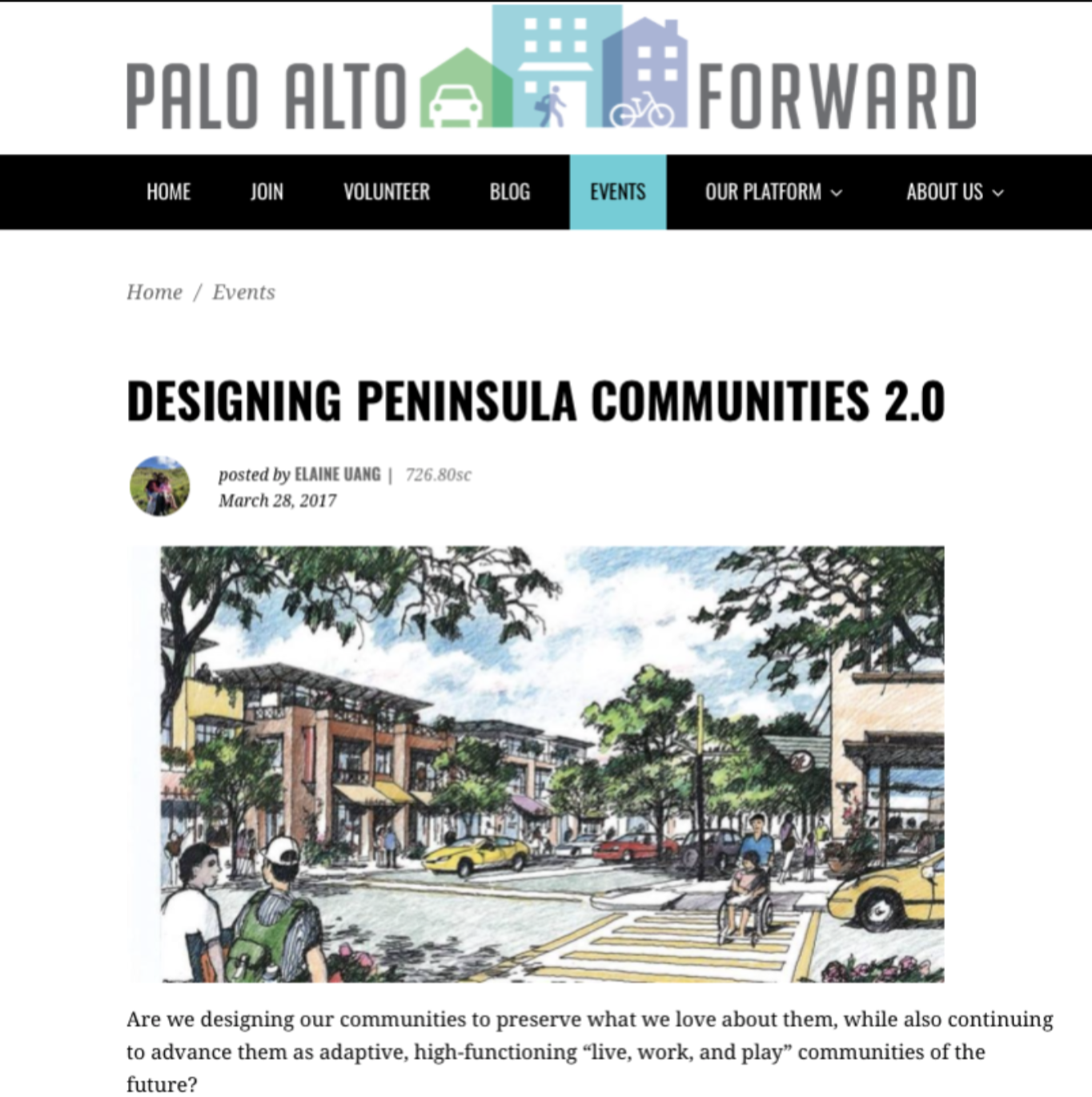 Amit Price Patel is a panelist at the Designing Peninsula Communities 2.0 - March 2017