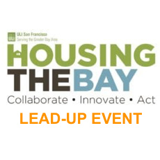 Amit Price Patel has helped coordinate a panel at uli's housing the bay event - April 10, 2019SITELAB's Amit Price Patel has helped coordinate the panel,
