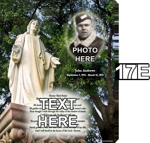 17E Jesus Statue