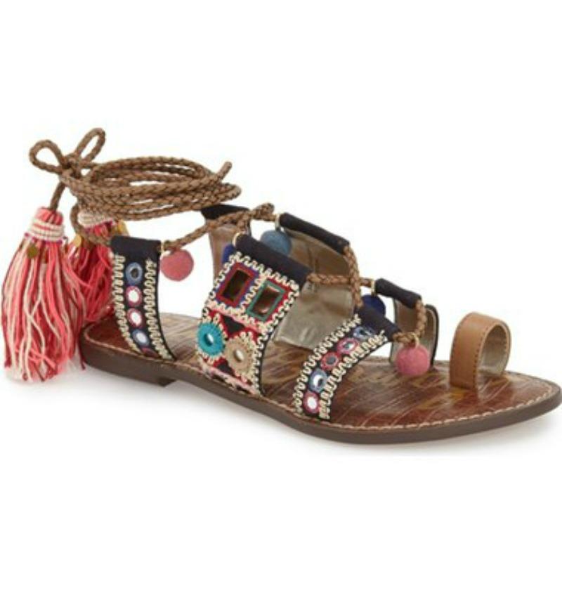 Sam Edelman  Lace up Sandals  | Photo: Nordstrom