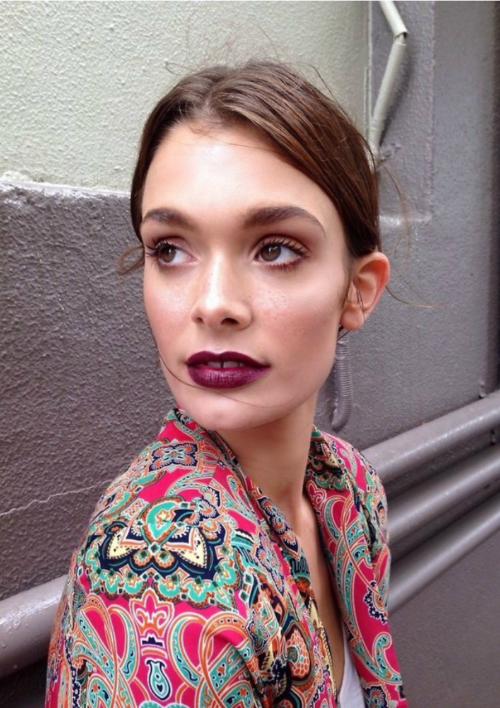 Simple Look With A Statement Lip b@ acheekylifestyle.com by Val Banderman.png