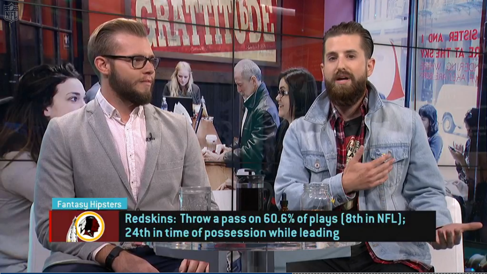 Video: Fantasy Hipsters on Rob Kelley