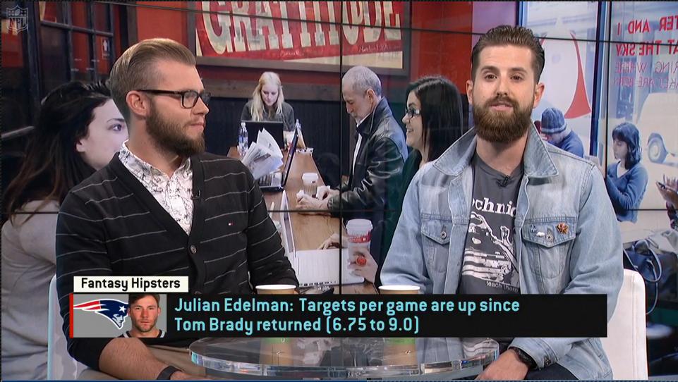 Video: Fantasy Hipsters on Julian Edelman