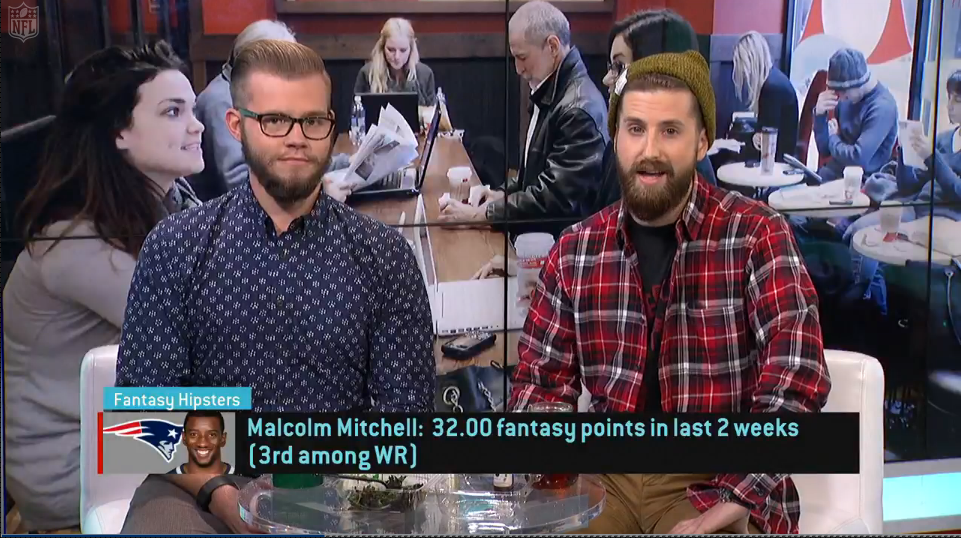 Video: Fantasy Hipsters on Malcolm Mitchell