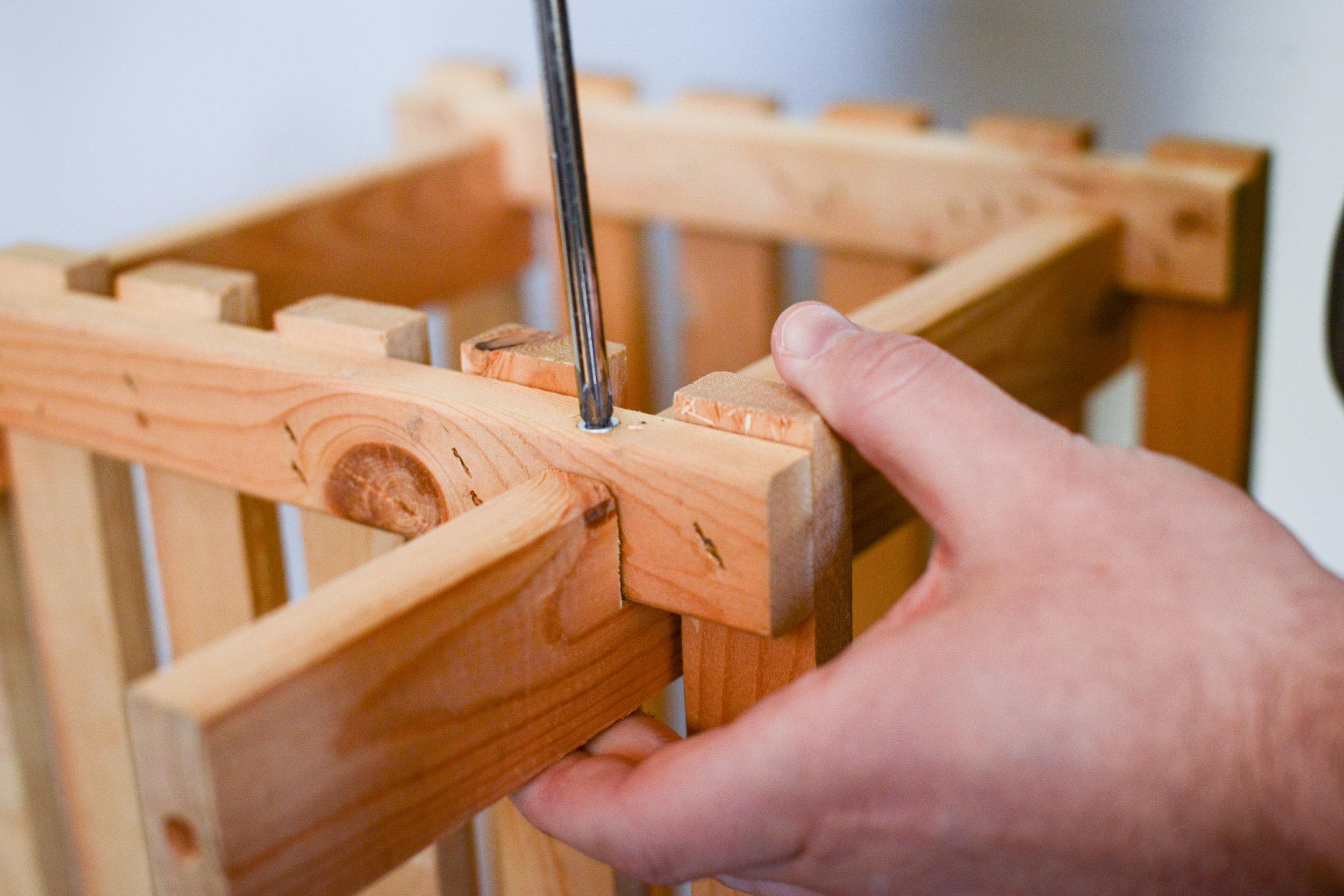 Building a wooden shoe rack