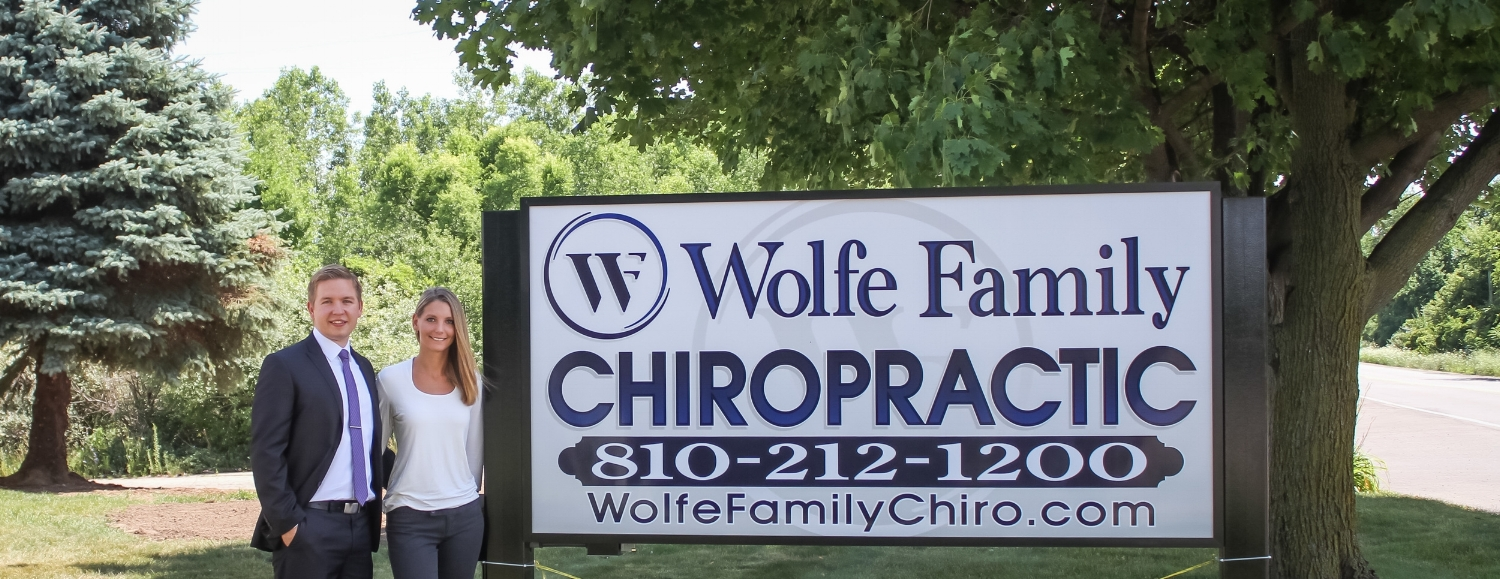 Doctors Near Sign at Wolfe Family Chiropractic Metamora