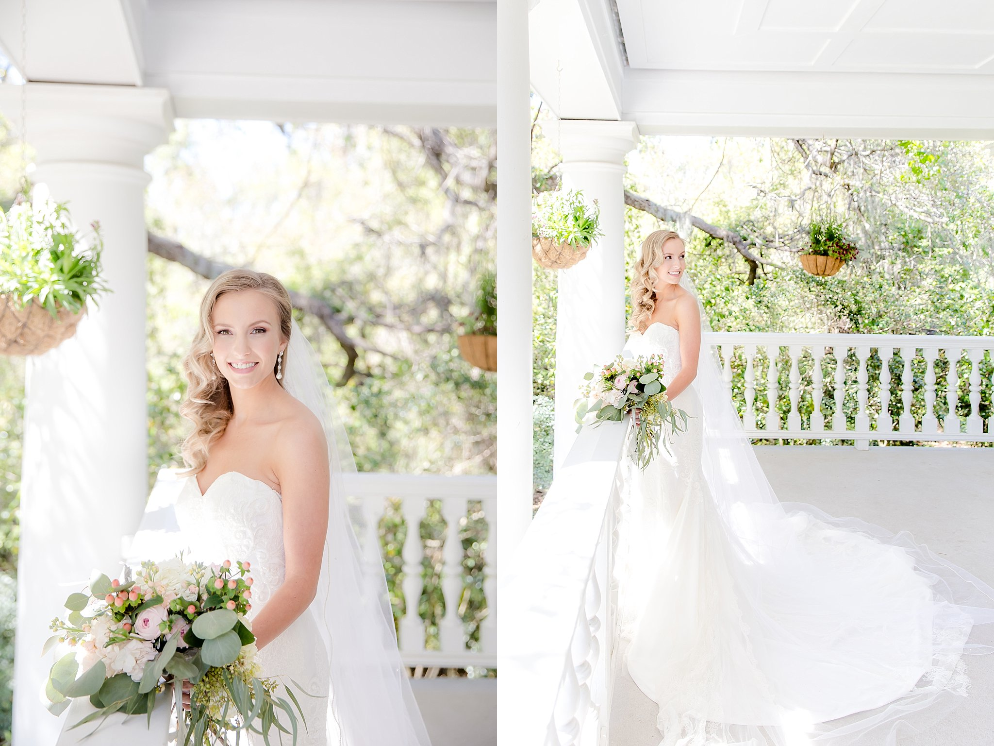 Photography:  Adrienne Cooper Photography  | Venue:  Magnolia Plantation  | Wedding Dress: Kelly Faetanini from  The Bridal House of Charleston  | Hair + Makeup:  BlushAir Bridal Hair and Makeup   | Bouquet: Stephanie Dickerson