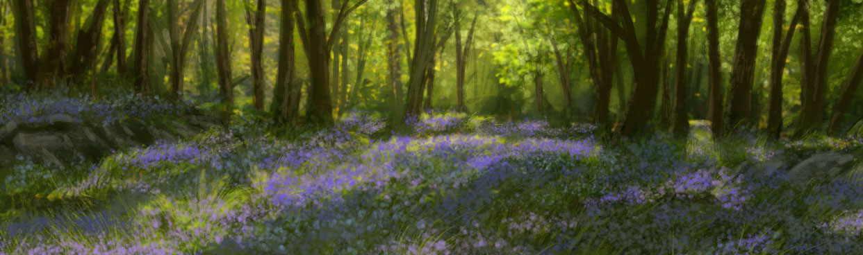 """For those who might have missed it, here's that """"Sparse Forest""""..."""