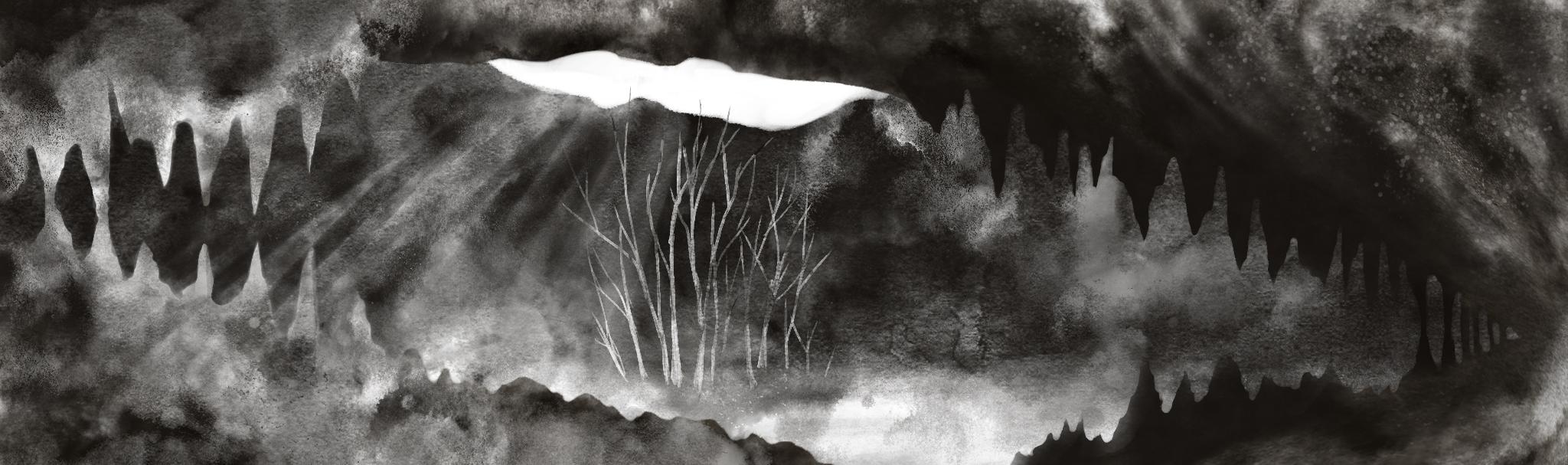 Cave in progress, by Amanda Spaid