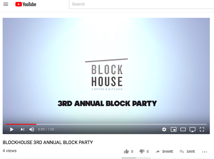 3RD ANNUAL BLOCKHOUSE BLOCK PARTY