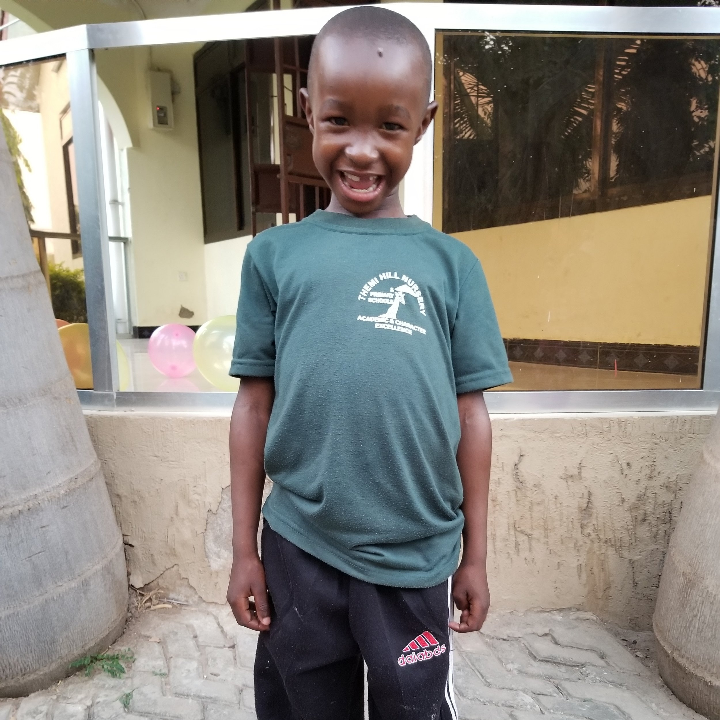 Idrisa Ismal Ibrahim   Age 8