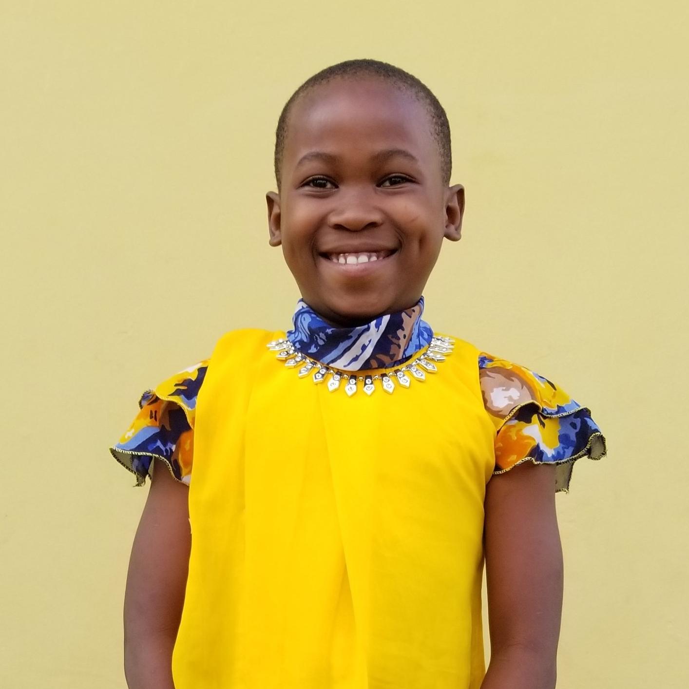 Judith Seif Kasele   Age 7