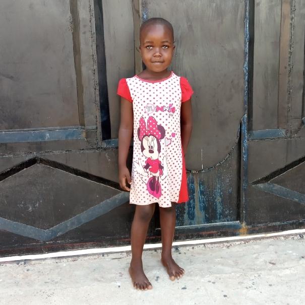 Rebecca Thomas Nsanze   Age 5