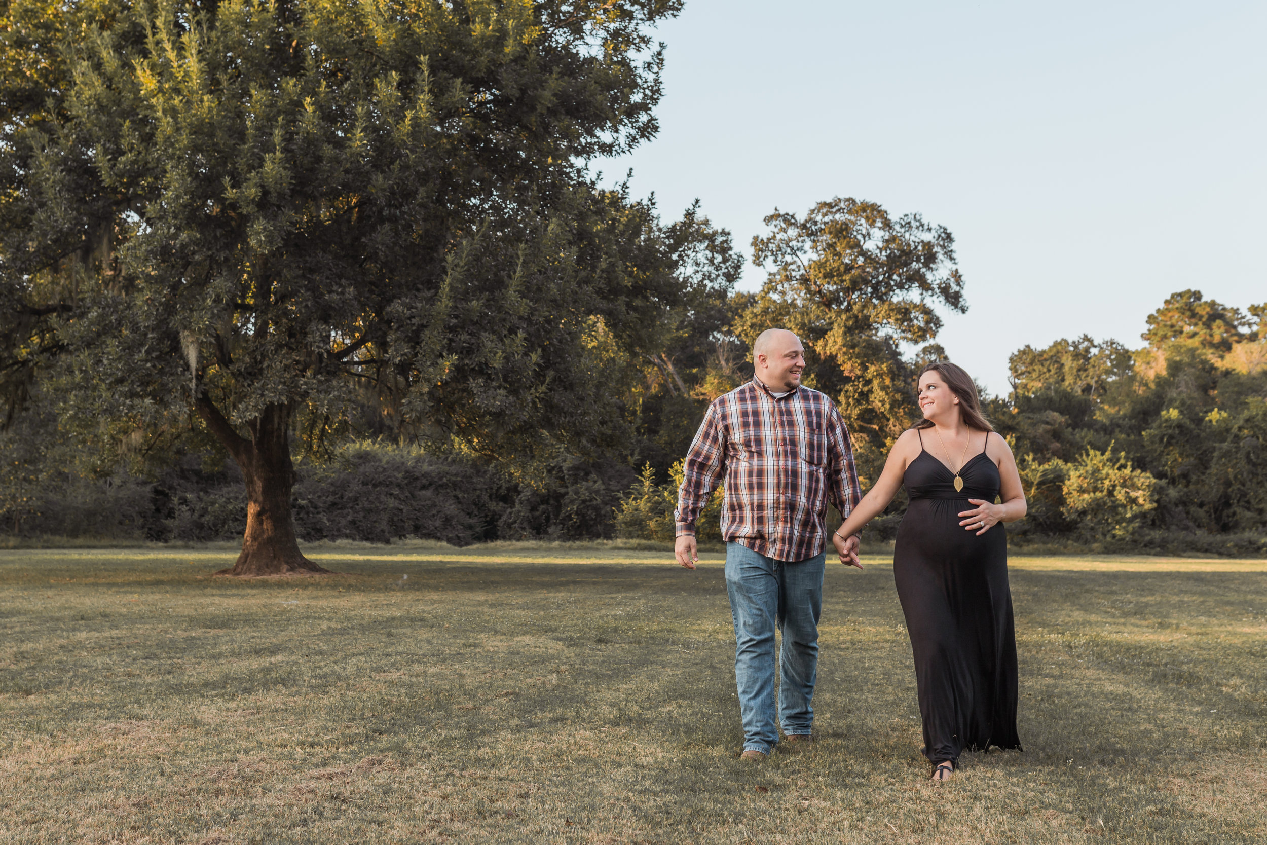 Couples Maternity Photos | Cypress TX
