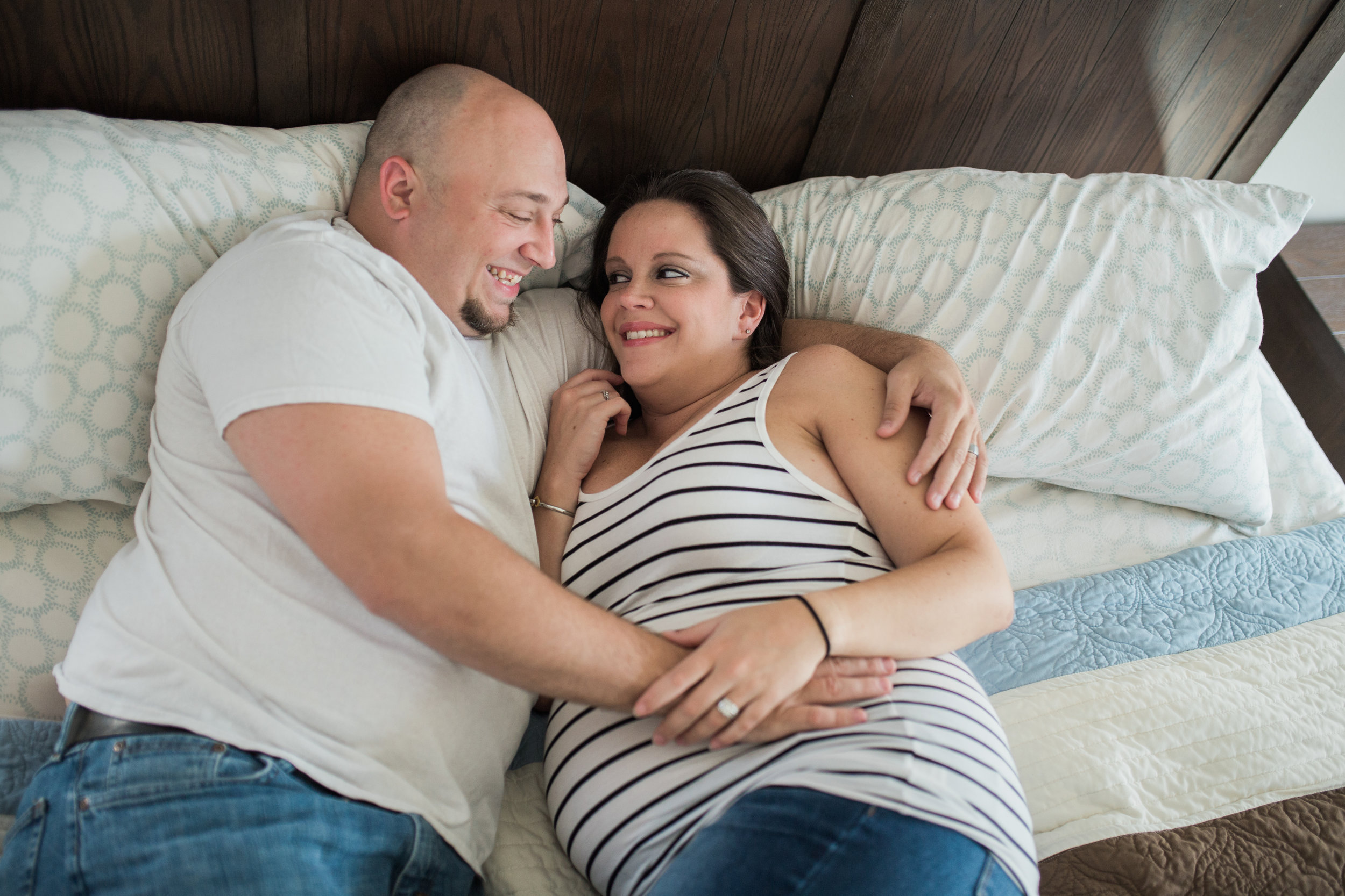 Couples Maternity Photos | Houston TX