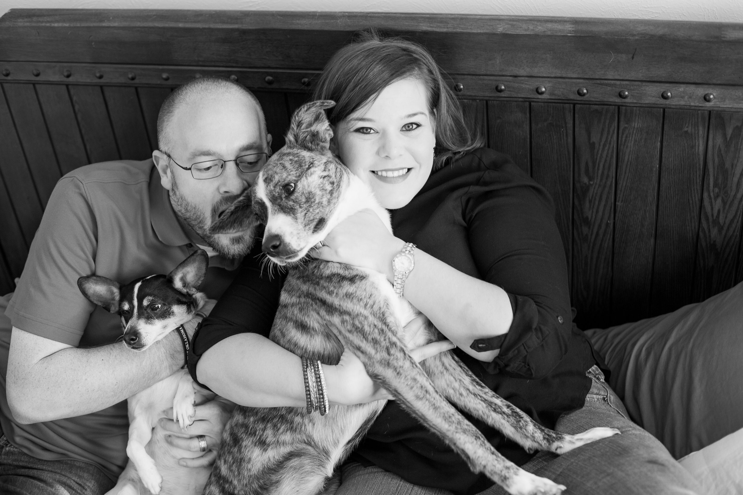 Family with Furbaby Photos | Houston TX