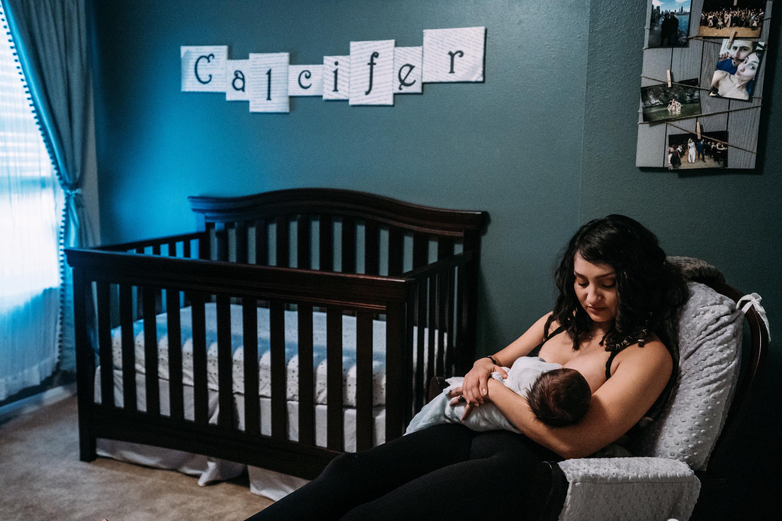 Documentary Family Photographer in Houston - Carter Newborn-00924.jpg