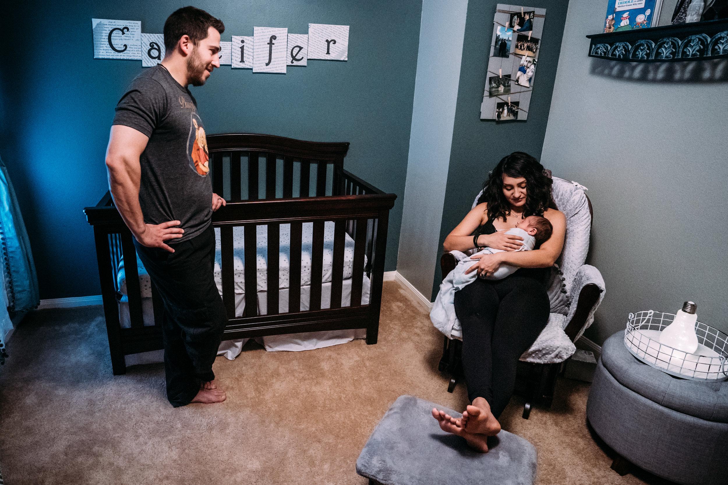 Documentary Family Photographer in Houston - Carter Newborn-00973.jpg