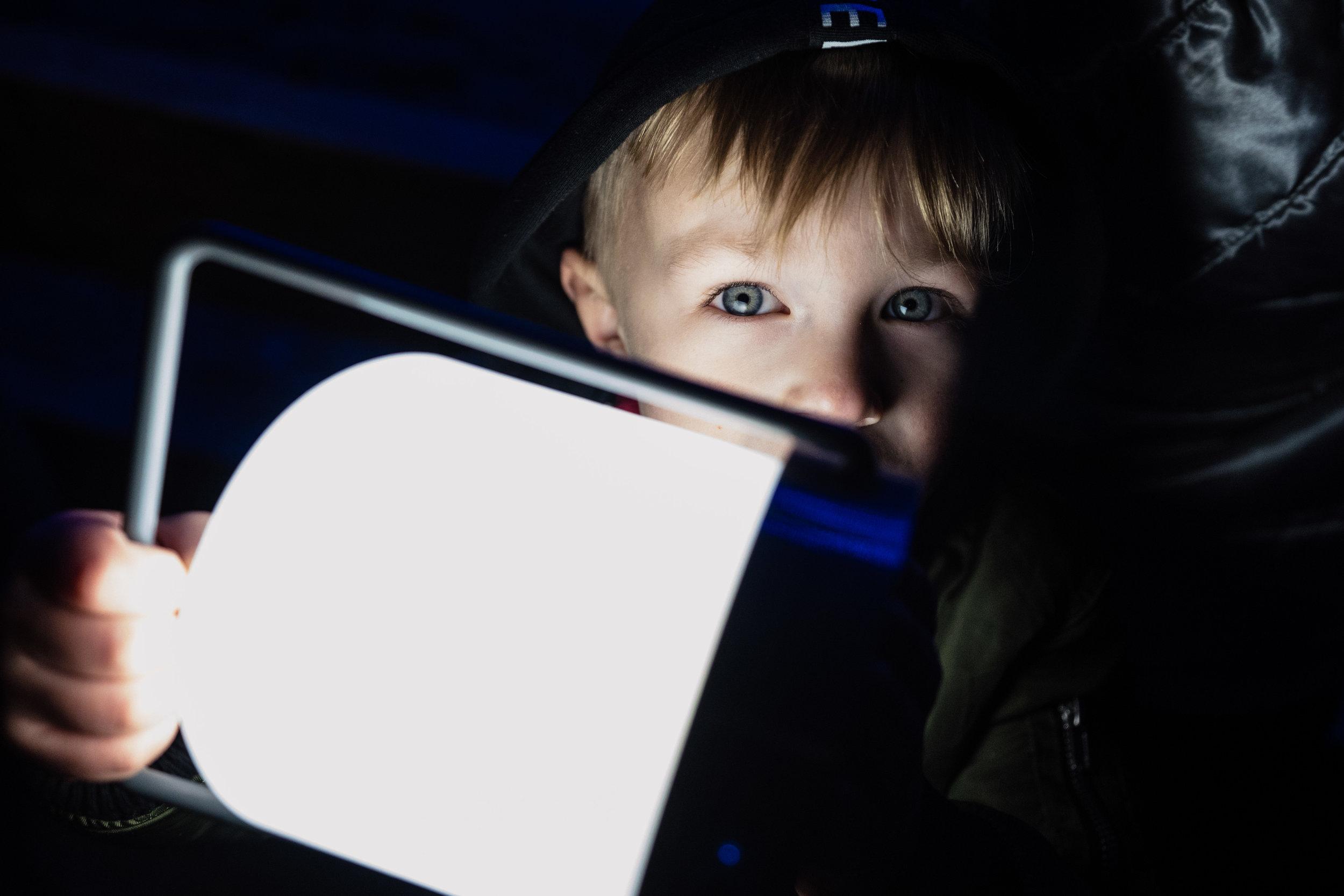 Children enjoying Christmas Lights-5.jpg