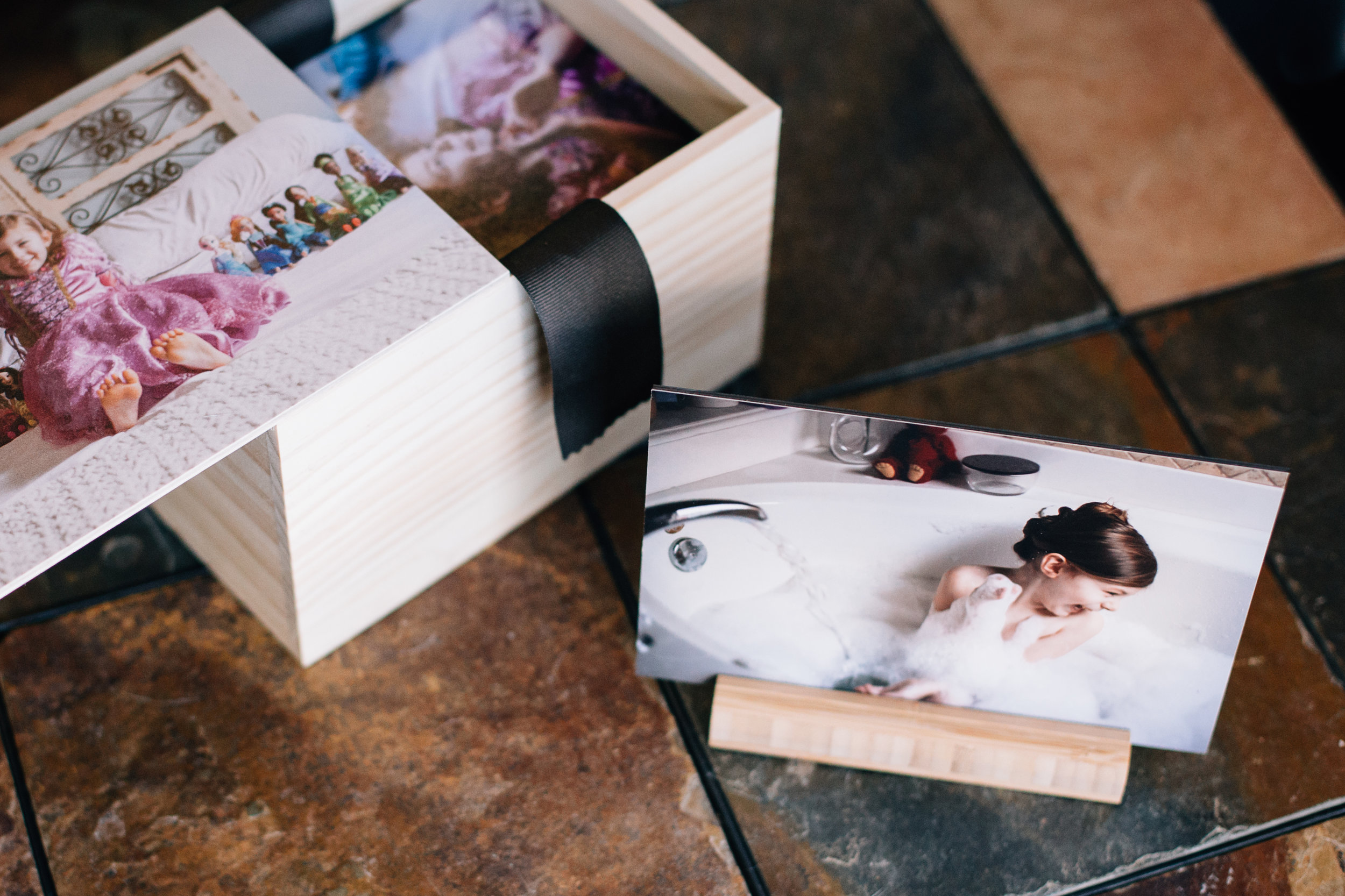 olive shoot photography wooden image box