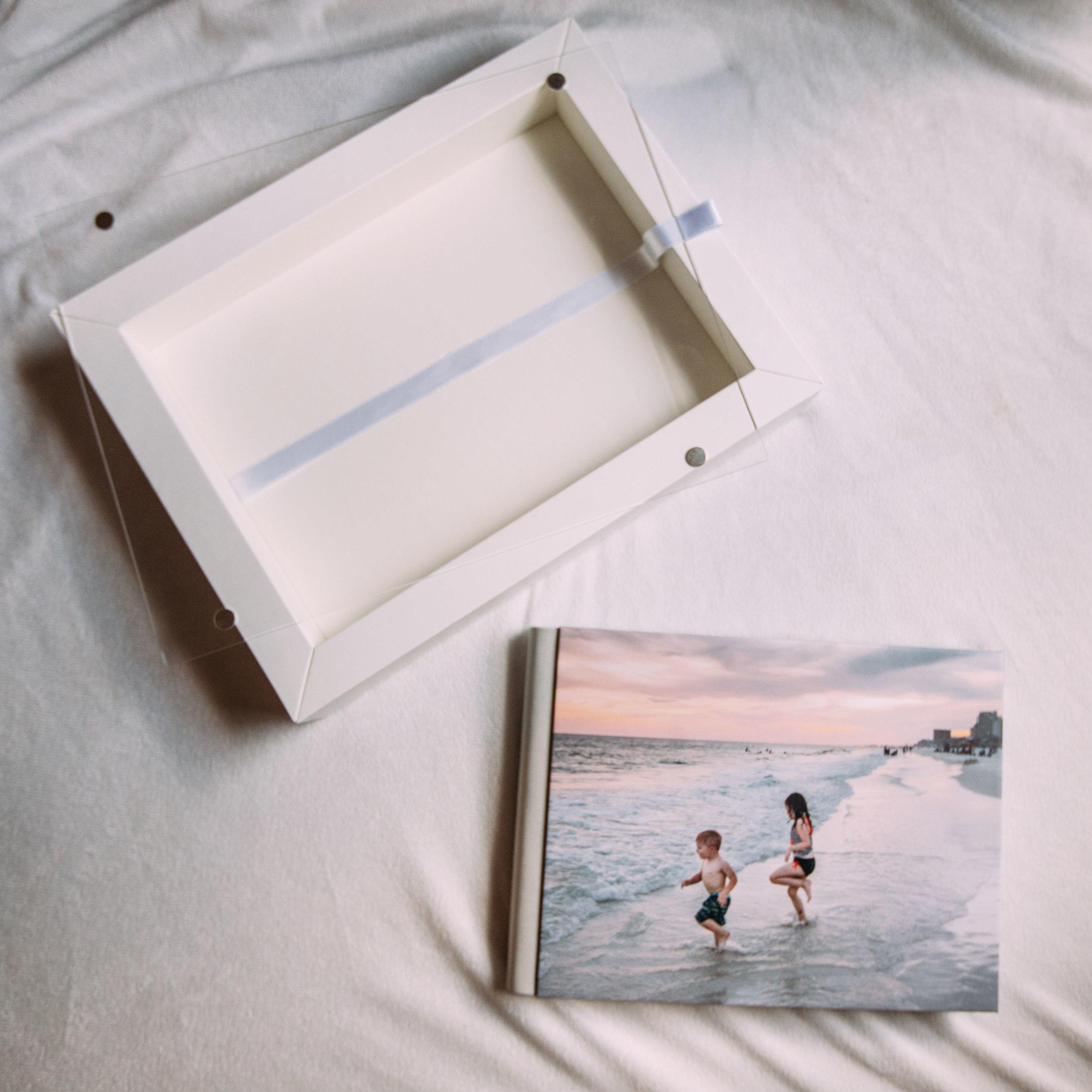Olive Shoot Photography Family Photo Album