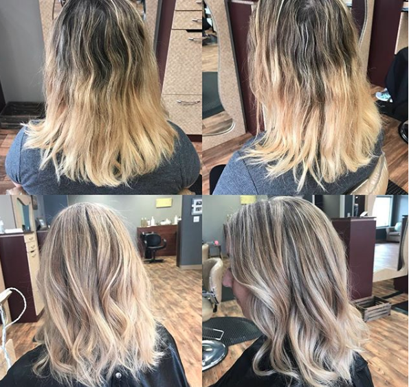 holiday cut and color