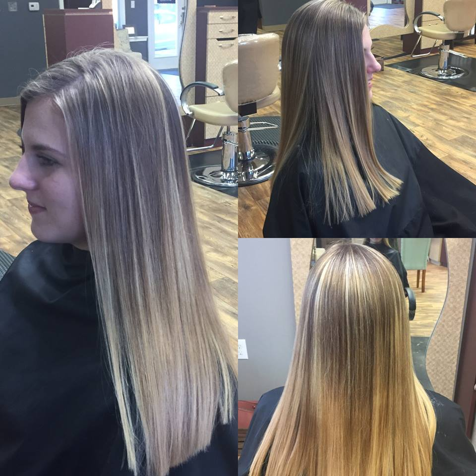 Balayage for a Brighter Blonde